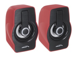 [5902211111597] Audiocore Computer Speakers 6W AC855R USB Red