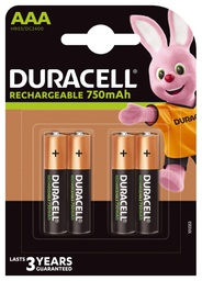 [5000394045019] Duracell HR3-B household battery Rechargeable battery Nickel-Metal Hydride (NiMH)