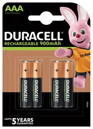 [5000394045118] Duracell Turbo AAA Rechargeable battery Nickel-Metal Hydride (NiMH)