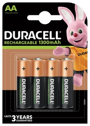 [5000394044982] Duracell HR6-B household battery Rechargeable battery Nickel-Metal Hydride (NiMH)